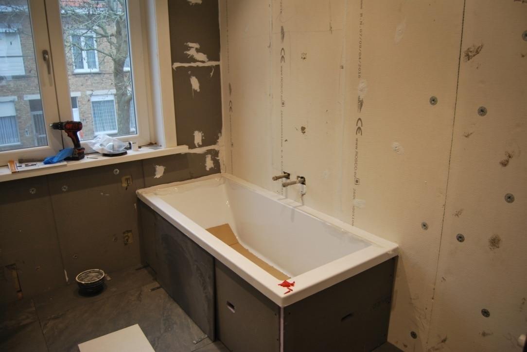 Hoge Spiegelkast Badkamer : Badkamer renovatie k. carpels